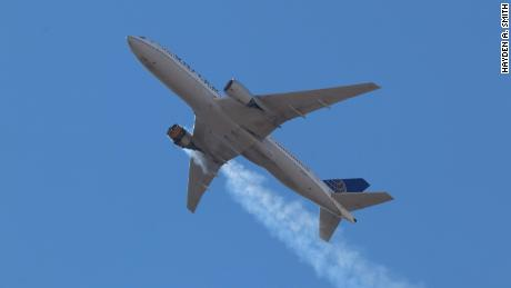 Airlines ground dozens of Boeing 777 planes after engine failure over Denver
