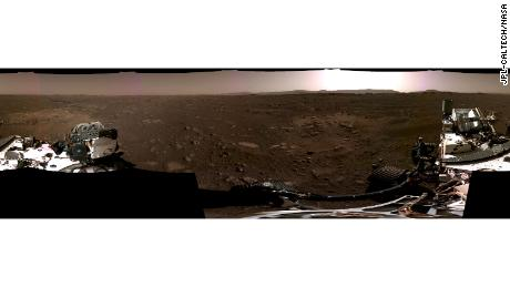 NASA Mars Perseverance rover: first video and new images 1