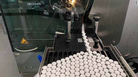 Millions of doses of Sputnik V are already being produced each month at the Generium Pharmaceutical plant.