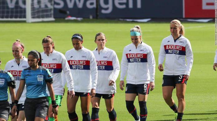 Soccer: us women's team 'past the protesting phase' of anthem debate | latest news live | find the all top headlines, breaking news for free online february 23, 2021