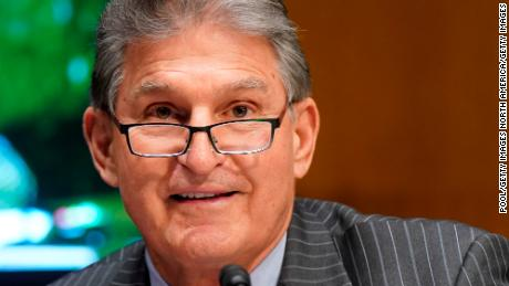 Manchin warns Biden's infrastructure bill is in trouble over corporate tax hikes