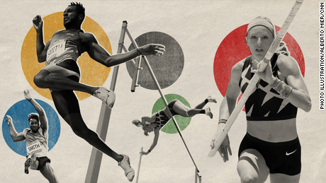 How Sandi Morris and Tyrone Smith navigated the 'purgatory' of a postponed Olympics