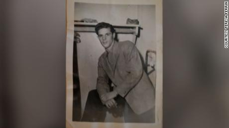 Erik Karl Blauberg, the Purple Heart recipient, served in the Korean War