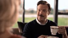 "Jason Sudeikis stars in ""Ted Lasso."""