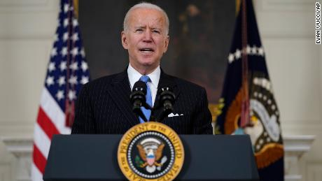 Biden now says US will have enough vaccines for every adult by the end of May