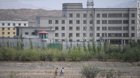 A facility believed to be a re-education camp where mostly Muslim ethnic minorities are detained, in Artux, north of Kashgar, on June 2, 2019.