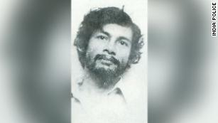 Charles Sobhraj following his arrest in Delhi in July 1976.