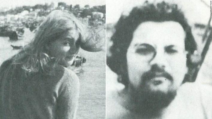 Cornelia Hemker (left) and Henricus Bintanja went missing in Thailand in 1975. Their bodies were found burned that year.