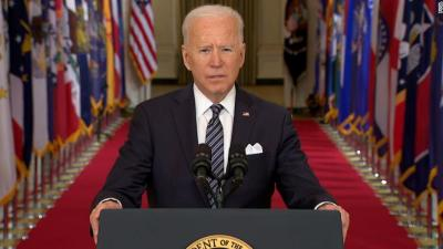 Biden directs states to open vaccinations to all adults by May 1 - CNNPolitics