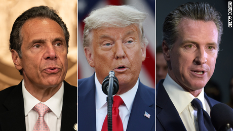 How early epidemic praise for Cuomo, Newsom and Trump disappeared