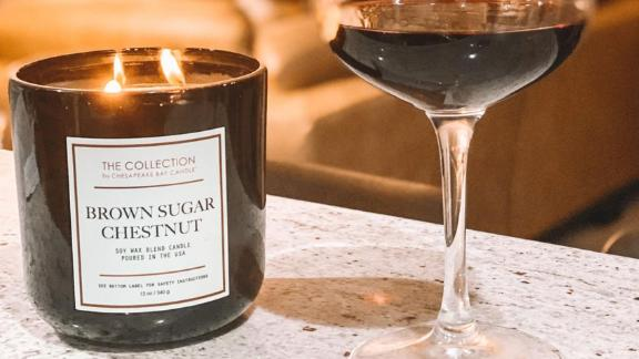 The Collection By Chesapeake Bay 2-Wick Brown Sugar Chestnut Candle