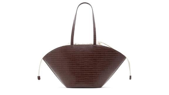 Who What Wear Kory Faux Leather Tote