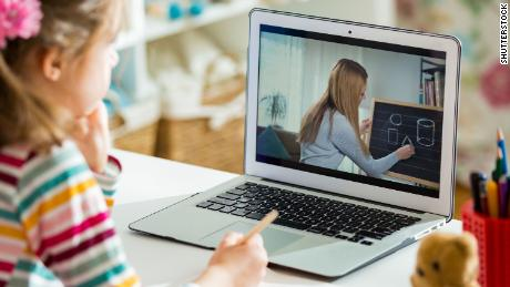 Virtual school can be damaging to children's mental health, CDC study says