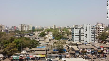 A view over the Chembur locality in Mumbai.