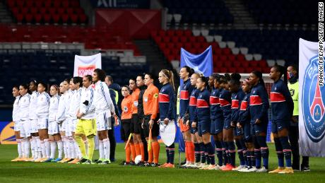 Paris Saint-Germain and Lyon lead the way in the top tier of women's football in France.