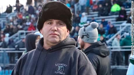 A Massachusetts high school removed its football coach after the team used anti-Semitic language to call plays