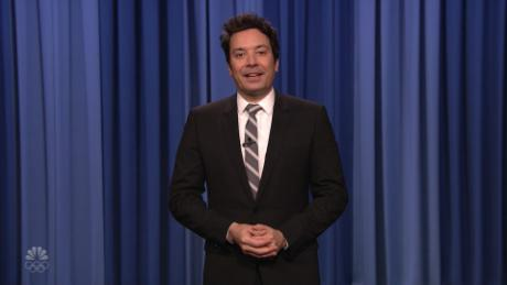 """Jimmy Fallon of """"The Tonight Show Starring Jimmy Fallon"""" addressed criticism of a segment by TikTok star Addison Rae performing dance moves created and choreographed by people of color who weren't acknowledged."""