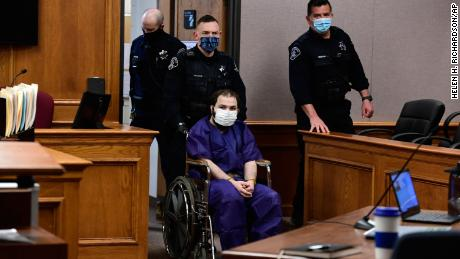 Ahmad Al Aliwi Alissa, 21, made her first court appearance Thursday in Boulder.