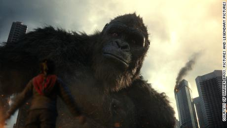 'Godzilla vs. Kong' turns the battle of 'alpha titans' into a C-level spectacle