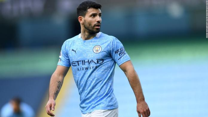 Manchester City's all-time top scorer Sergio Aguero will leave the club at the end of the season