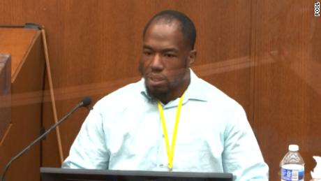 Donald Wynn Williams II testified that he called 911 to report police's actions after seeing Floyd's death.