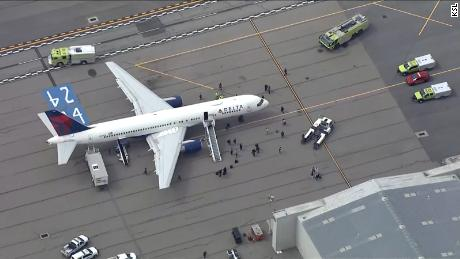 The Utah Jazz's charter flight was forced to make an emergency landing at Salt Lake City airport.