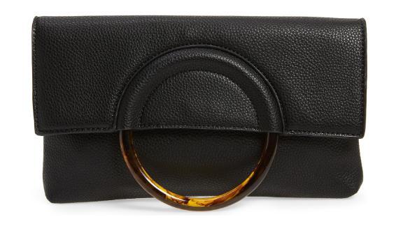 BP. Ring Handle Classic Clutch