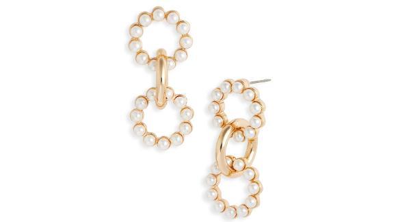 8 Other Reasons x Jenn Im Lulu Imitation Pearl Drop Earrings