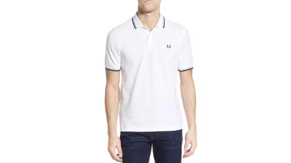 Fred Perry Twin Tipped Extra-Slim Fit Piqué Polo