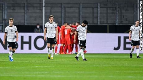 The loss ends a 35-game unbeaten run for Germany.