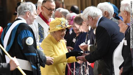The last traditional Maundy service was held at St. George's Chapel on April 18, 2019 in Windsor.