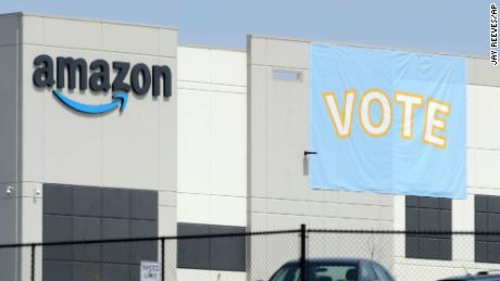 Amazon union election results should be set aside, union argues to labor board