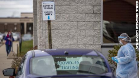 Michigan adds more than 8,400 new Covid-19 cases in one day, the most since December