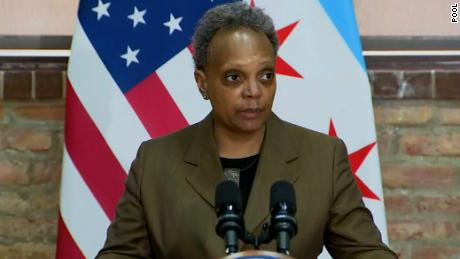 Chicago mayor calls for a new police foot pursuit policy