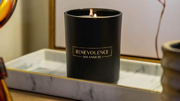 Benevolence LA Matte Black Eucalyptus & Chamomile Candle