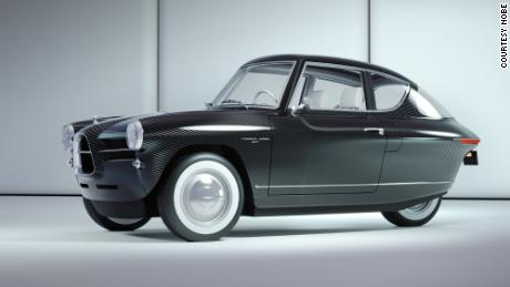 """The small and light Nobe GT100 will mark a return to the """"Golden Age of motoring,"""" the company's founder said."""