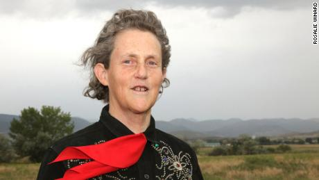 Temple Grandin is a renowned animal behavior expert and professor at Colorado State University.