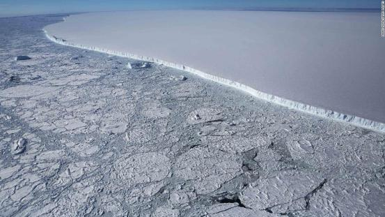 One-third of Antarctica's ice shelf is at risk of collapse with global warming