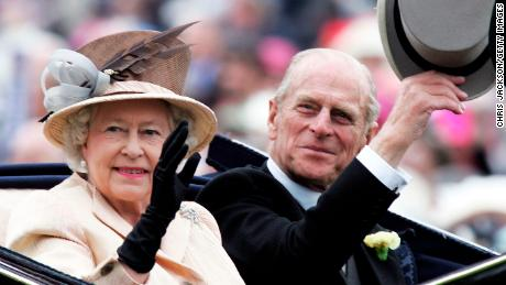 Queen in 2005 with Prince Philip.