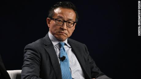 """Joe Tsai, executive vice chairman of Alibaba Group, told investors on Monday that the company is """"pleased we are able to put this matter behind us"""" after Chinese regulators handed down a record fine."""