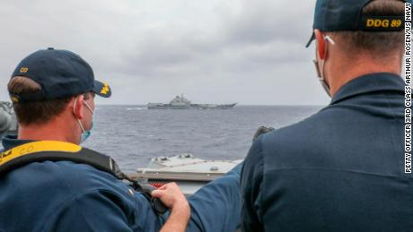 US and China deploy aircraft carriers in South China Sea as tensions simmer