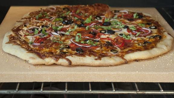 Unicook Heavy-Duty Ceramic Pizza Grilling Stone