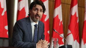 Trudeau warns Canada faces serious third wave of Covid-19 cases as officials tighten lockdown measures