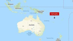 Vanuatu: Philippine fisherman's corps with Covid taken to the coast and the island nation of the Pacific takes no chances