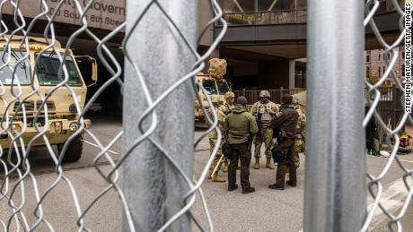 Minneapolis increasing security ahead of Chauvin trial verdict
