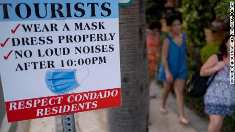 The trouble with maskless tourists