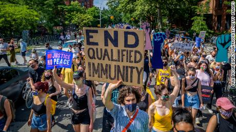 Tackling States;  Quality immunity & # 39;  For the police as Congress on this issue