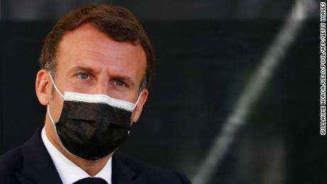 French President Emmanuel Macron has been accused of using the pandemic to grab emergency powers in France.