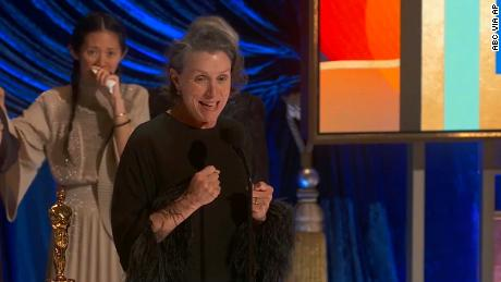 Frances McDormand's third Oscar win puts her one step closer to being awarded Best Actress