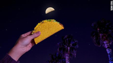 Taco Bell looks just like the moon, you see?